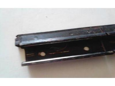 Aplicação Desconhecida - Calha de suporte do vidro porta (300mm)