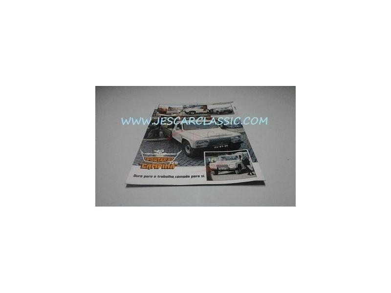 Portaro - Catálogo de lançamento - (320 CAMPINA)