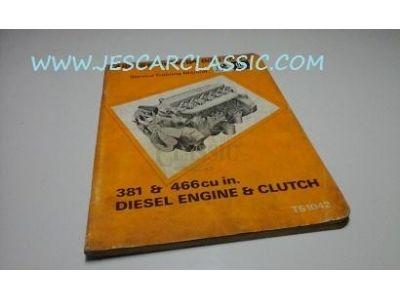 Opel Rekord A - Manual de reparação motores e embraiagem (DIESEL - BEDFORD 381 e 466)