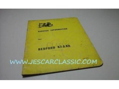 Bedford TK (KA & KB) - Manual de informações serviço