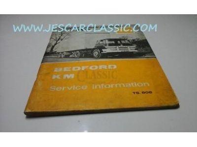 Bedford KM - Manual de serviços e informações
