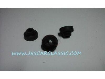 Nissan 100A - Jogo de (3) apoios de borrachas anti-vibração do motor de limpa-vidros
