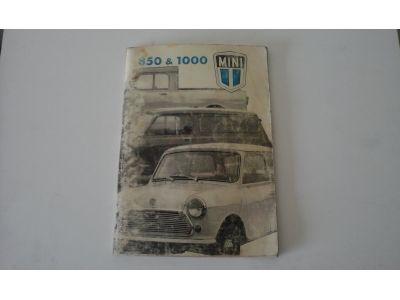 Mini - Manual do condutor (850 & 1000 Salon, Van, Pick-up)
